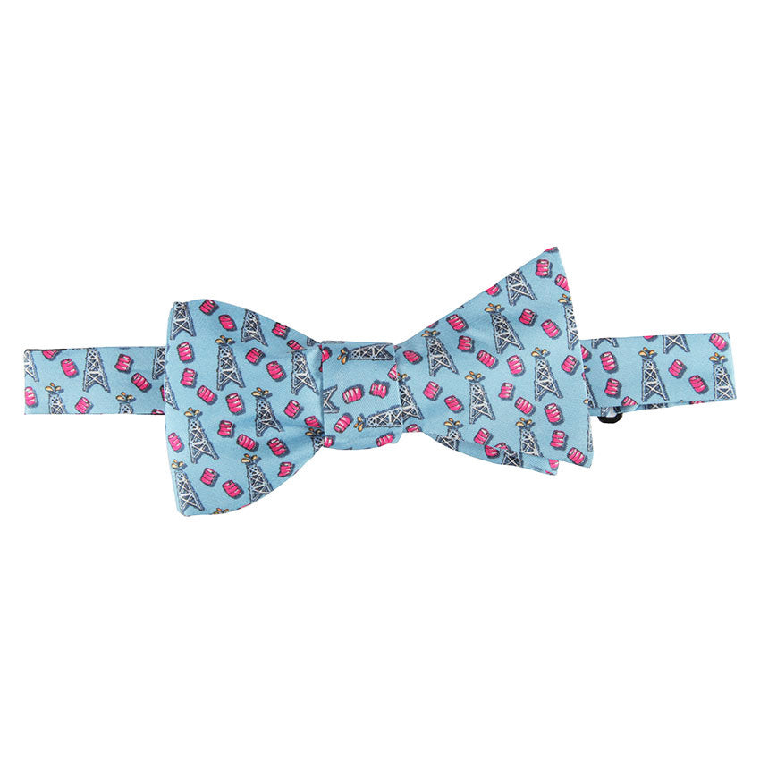 Spindletop Bow Tie - Light Blue