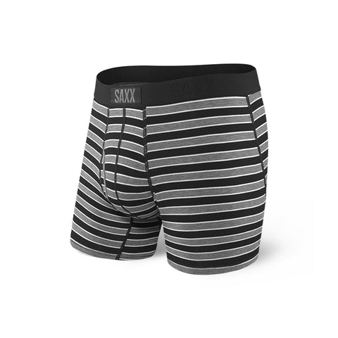 Black Crew Stripe Boxer Brief