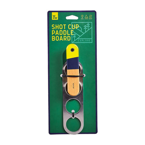Shot Cups & Paddle Board