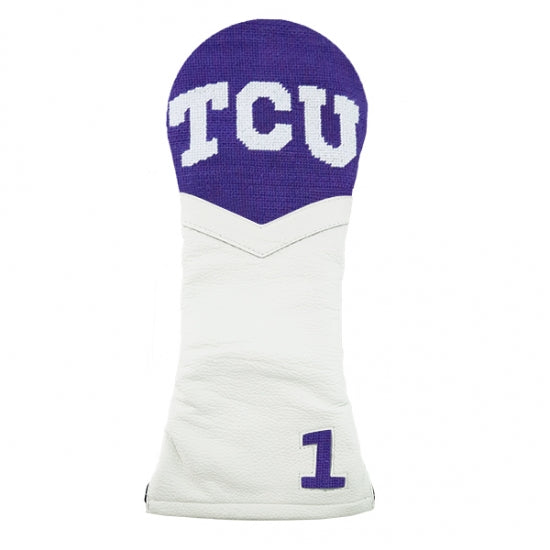 Smathers & Branson TCU Needlepoint Driver Headcover