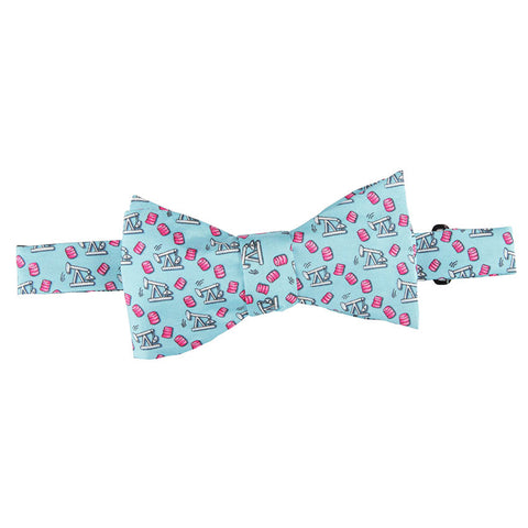 Thirsty Birds Bow Tie - Light Blue
