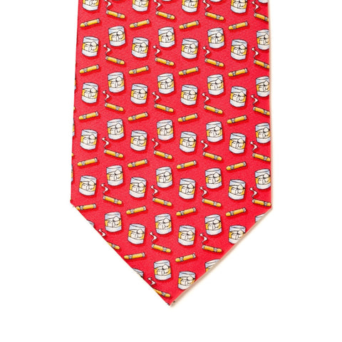 Texas Prozac Tie - Red