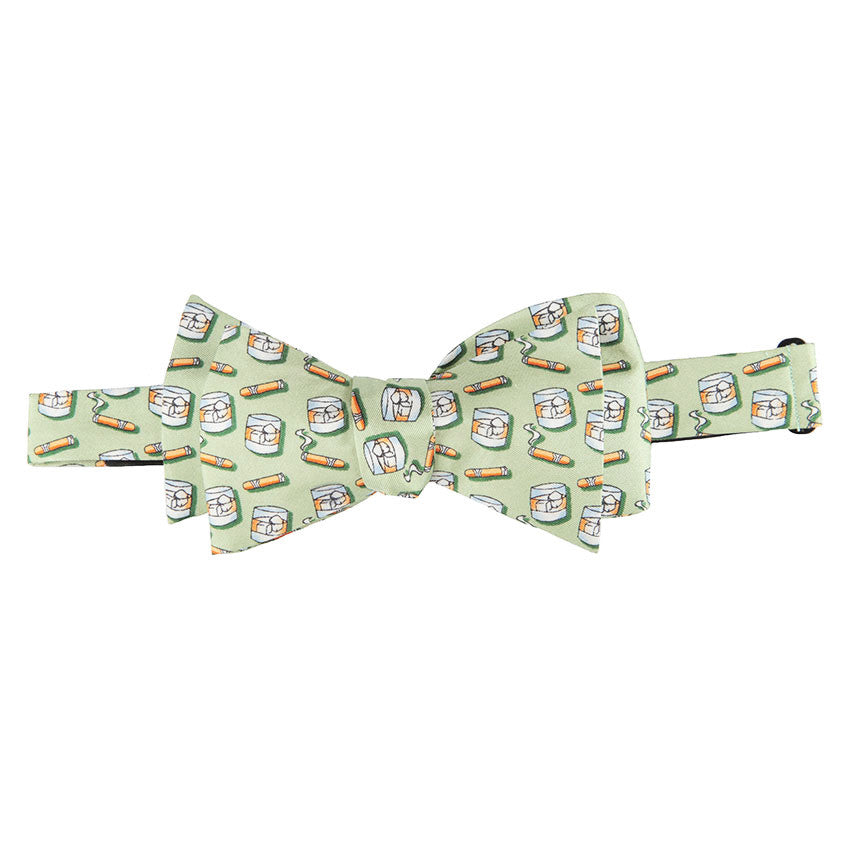 Texas Prozac Bow Tie - Green