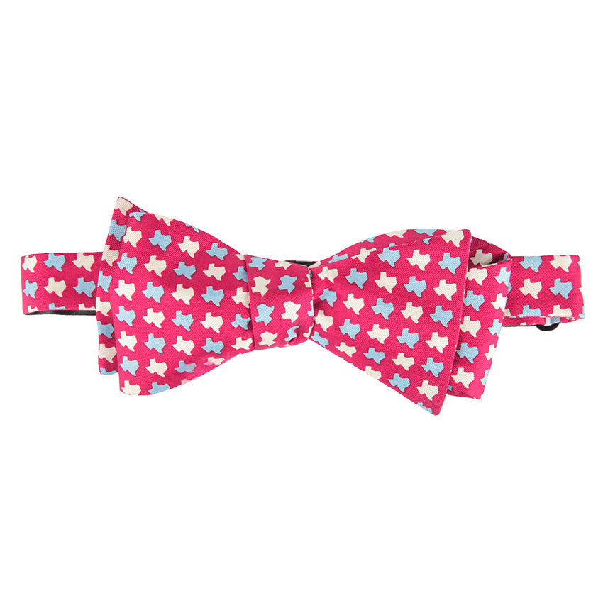 Texas States Bow Tie - Red