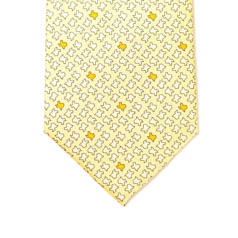 Texas Twisters Tie - Yellow