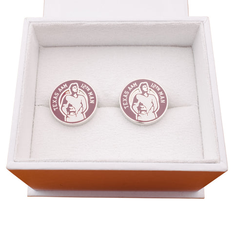 Texas A&M 12th Man Cufflinks