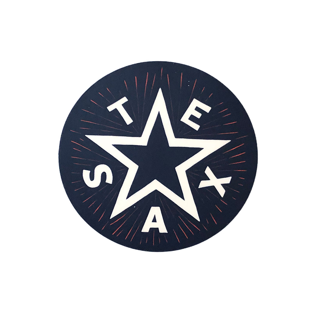 Texas Star Decal