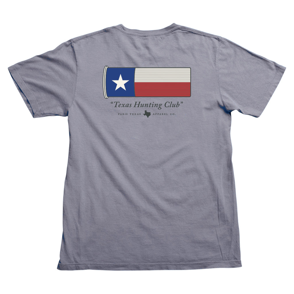 Texas Hunting Shell Pocket T-Shirt - Graphite