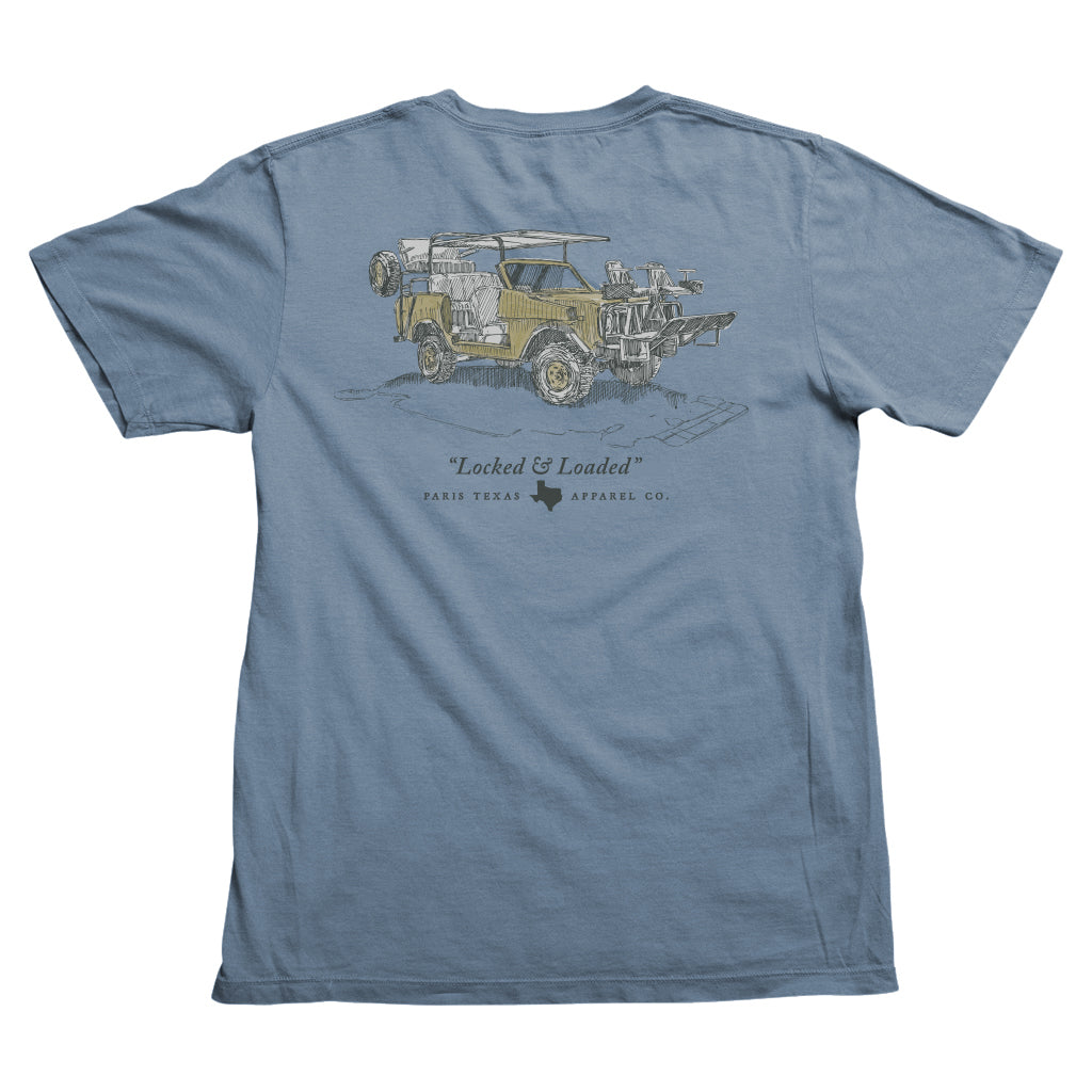 Texas Quail Rig Pocket T-Shirt - Slate