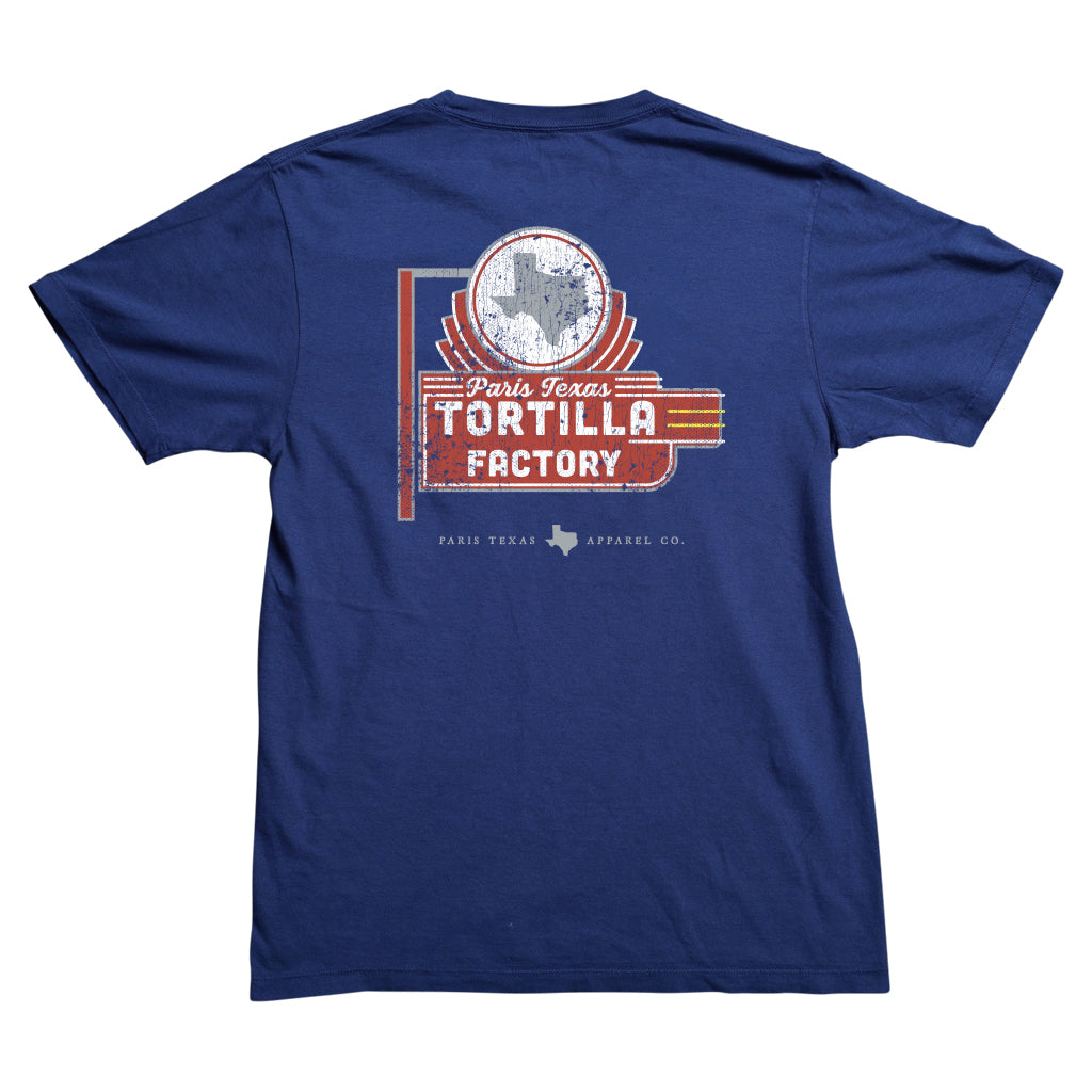 Tortilla Factory Pocket T-Shirt - Navy