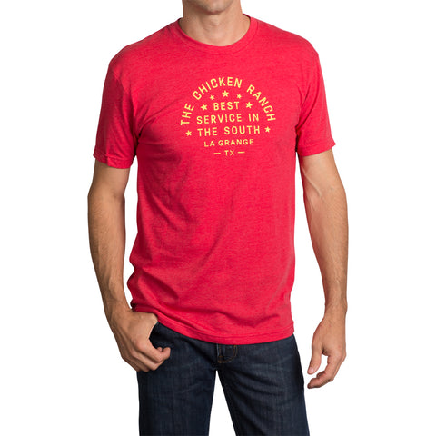 The Chicken Ranch T-Shirt - Red