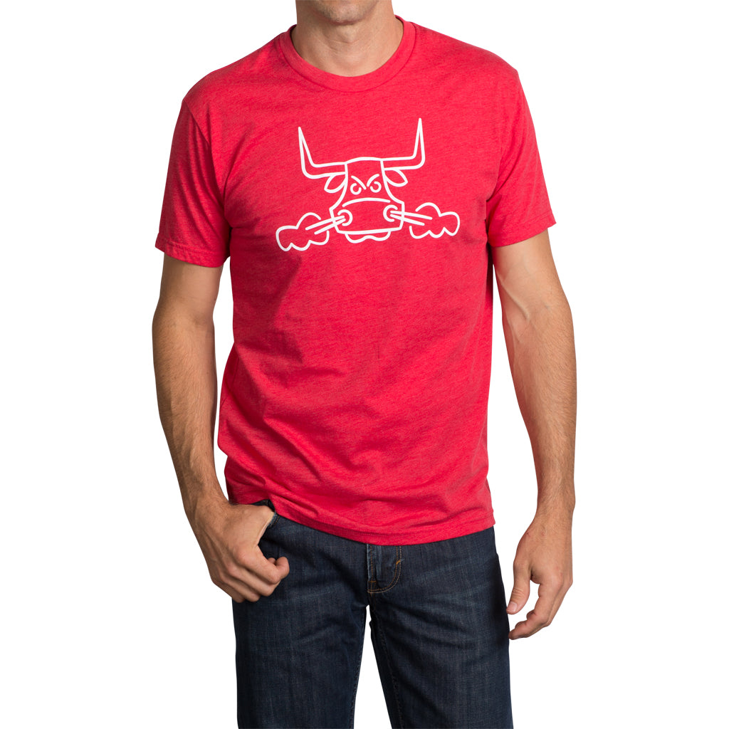 Angry Bull T-Shirt - Red