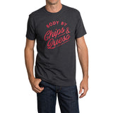 Body by Chips & Queso T-Shirt - Charcoal