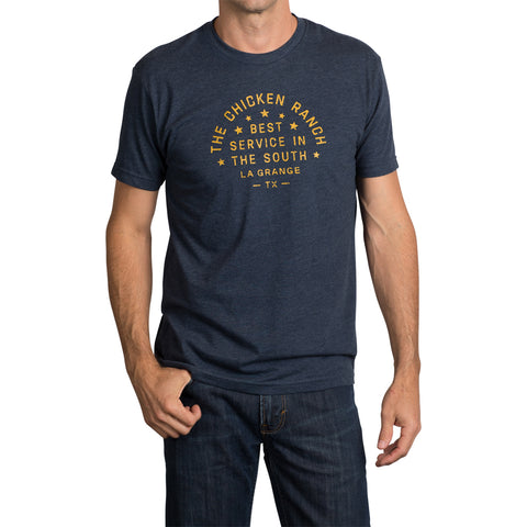 The Chicken Ranch T-Shirt - Navy