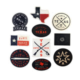 The Texas 10-Pack Decals