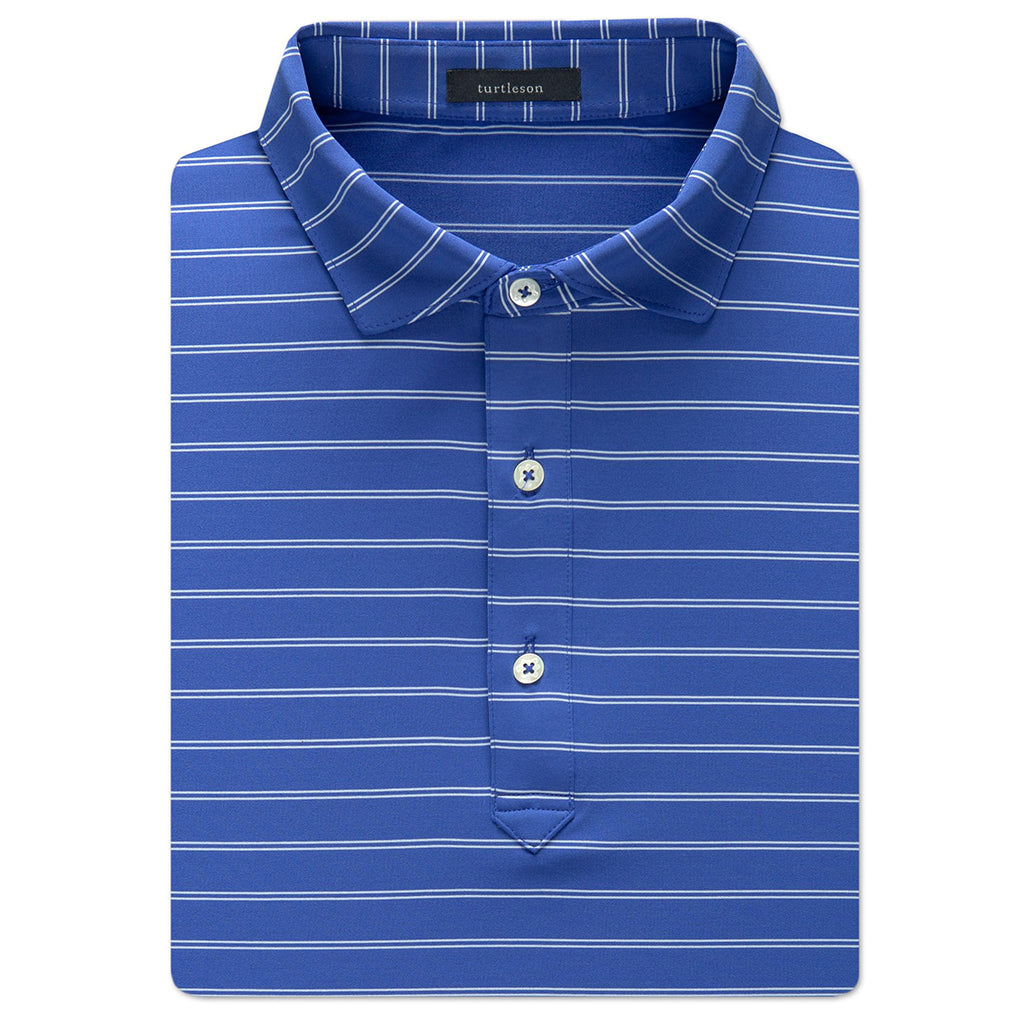 Turtleson_Hank_Stripe_Performance_Polo_Marine