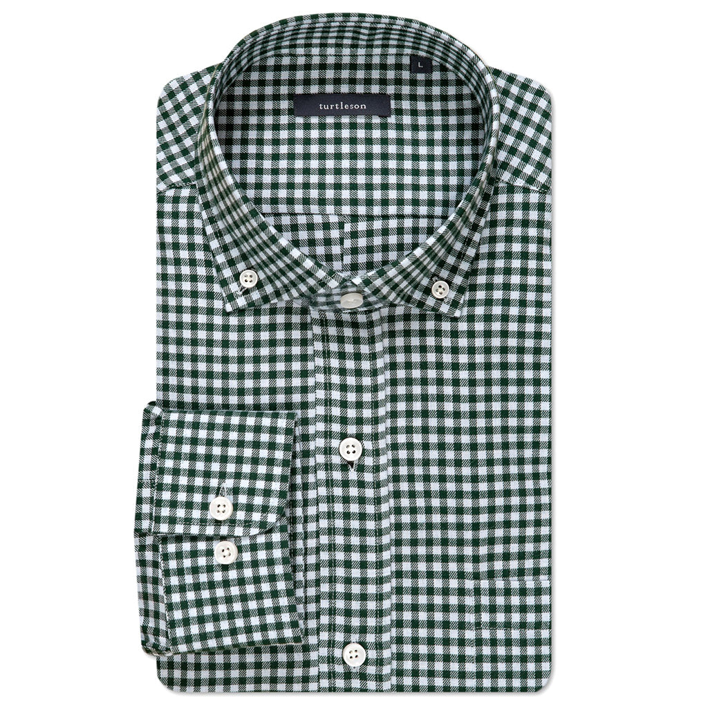 Turtleson_William_Check_Sport_Shirt_Pine