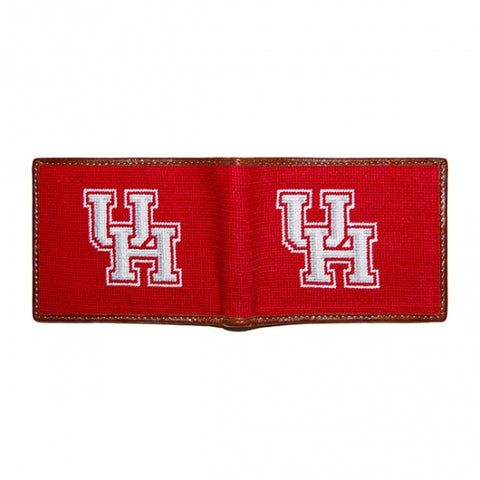 University of Houston Needlepoint Bi-Fold Wallet
