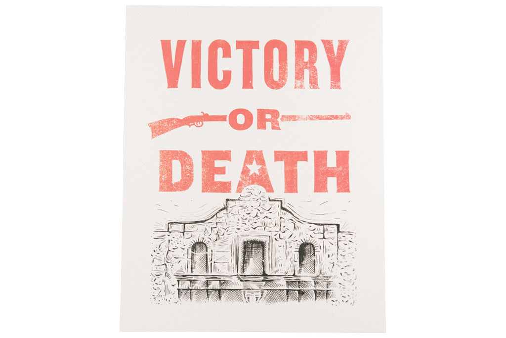 Victory or Death Print