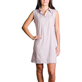 Gig 'Em Womens Sleeveless Guayabera Dress