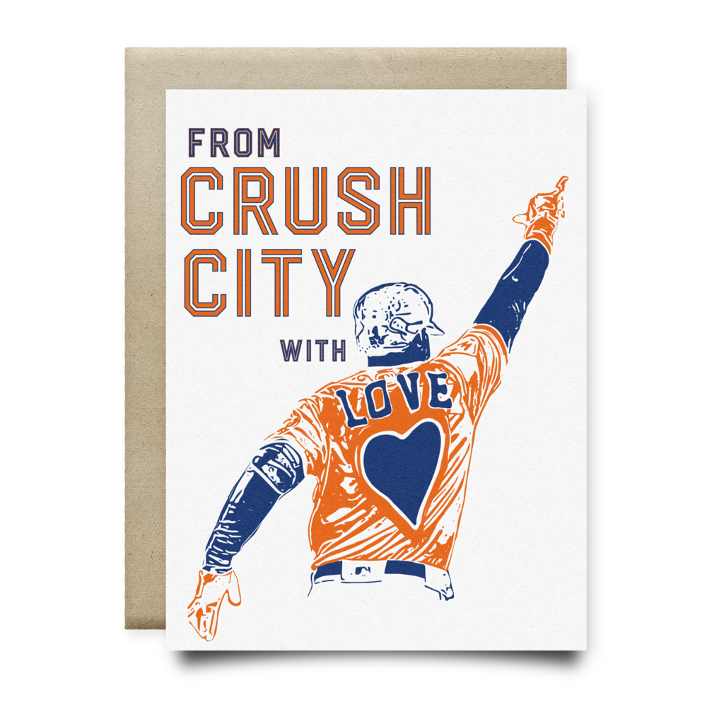From Crush City with Love Card
