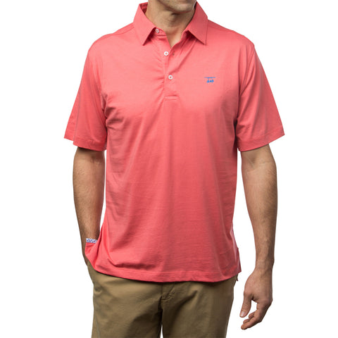 East Beach Polo - Solid Coral
