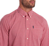 Barbour Gingham 19 Tailored Red