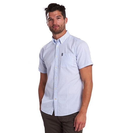 Barbour Seersucker Print 5 S/S Summer Shirt