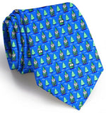 Cheeky Elves Tie - Blue