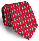 Cheeky Elves Tie - Red