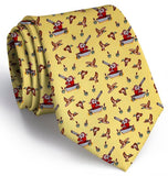 Crack Shot Kringle Tie - Yellow