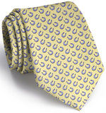 Horseshoe Heaven Tie - Yellow