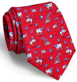 Lone Star State Tie - Red