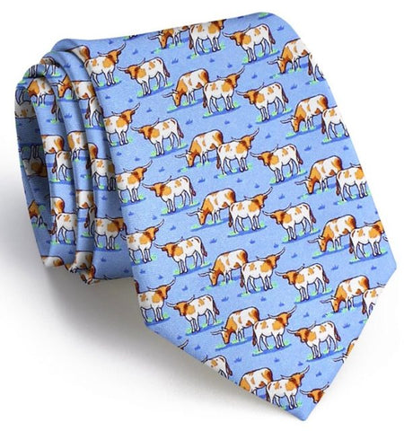 Texas Longhorn Tie - Red