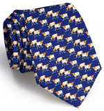 Longhorn Country Tie - Navy