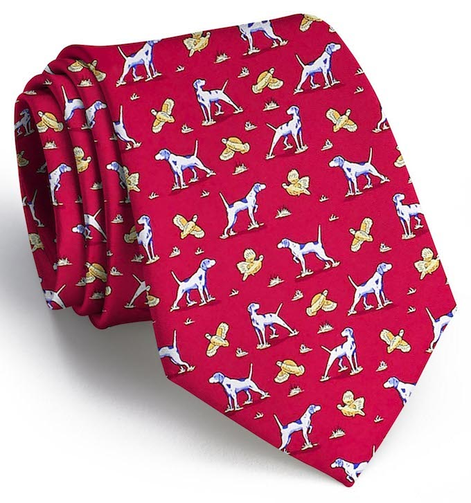 Point & Shoot Tie - Red