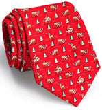 Randy Rudolph Tie - Red