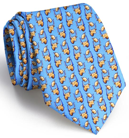 Texas Field Goal Tie - Light Blue