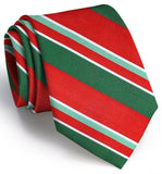 Wayfair Stripe Tie - Red