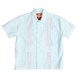 Nantucket Boys Guayabera - Aqua