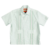 Charleston Boys Guayabera - Palm Green