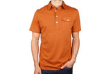 Burnt Orange Stretch Players Shirt