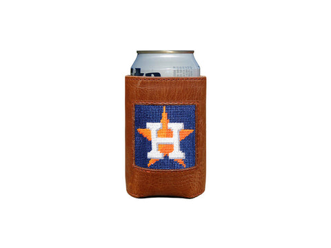 Texas Flag Needlepoint Can Cooler