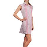 L. Avenue Guayabera Dress