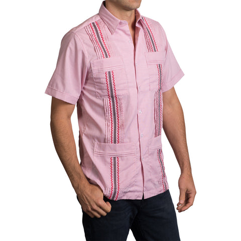 Guns Up Game Day Guayabera