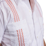 Havana Hemingway Guayabera - Burnt Orange
