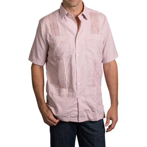 Game Day Dictator Guayabera - Burnt Orange