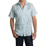 Game Day Dictator Guayabera - Forest Green