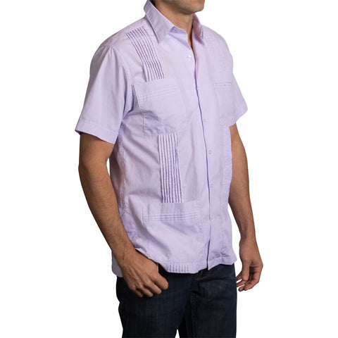Game Day Dictator Guayabera - Purple