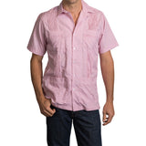 Game Day Dictator Guayabera - Red